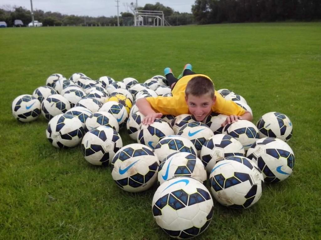 all kids soccer ball